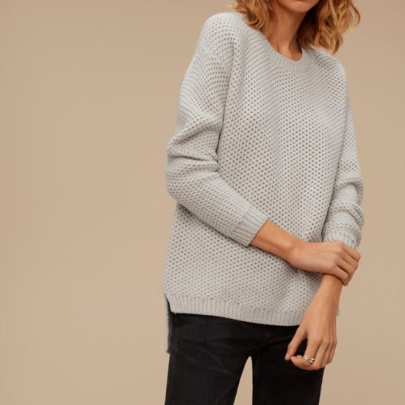 WILFRED FREE ISABELLI SWEATER- Color Charcoal Grey